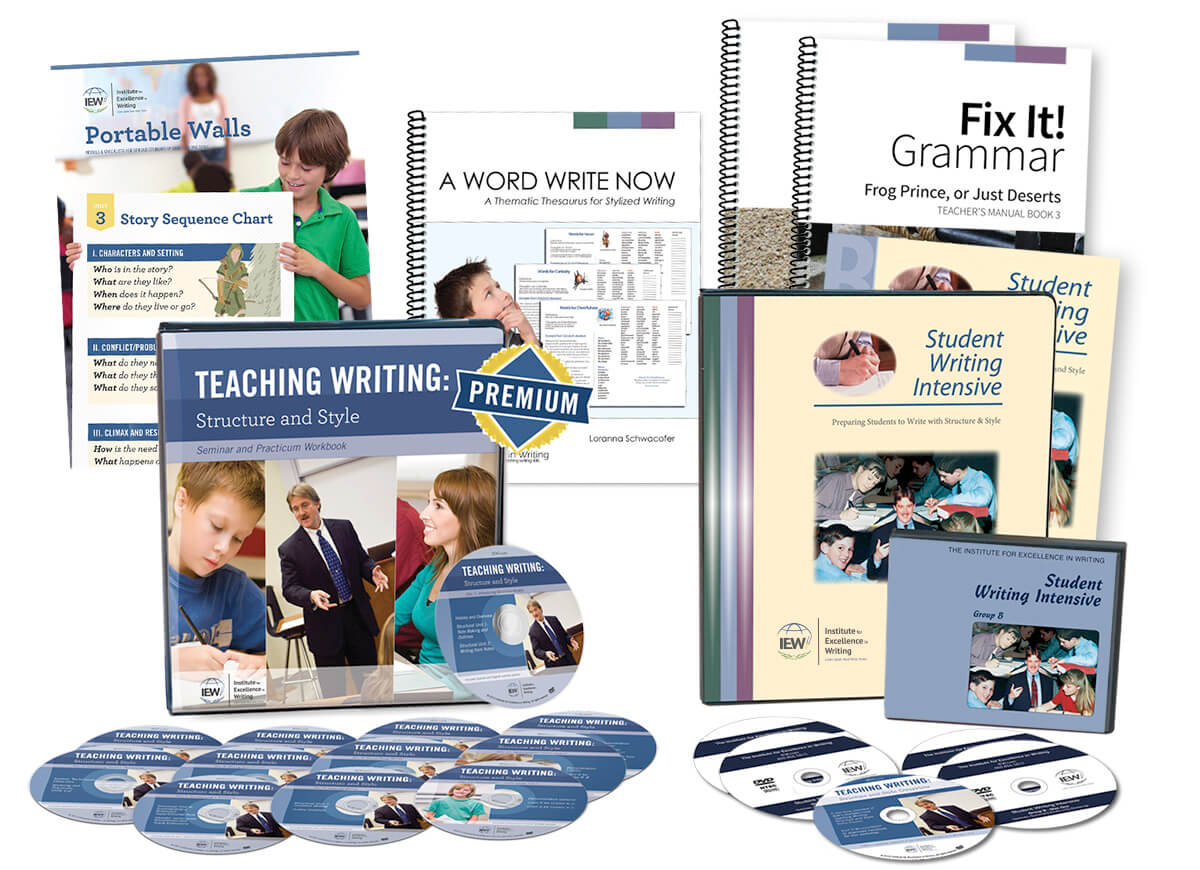 Deluxe Combo Teacher/Student Writing Package